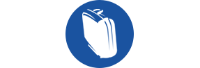 Briefcase Icon for Plumbing Installation